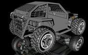 バギー 3d model