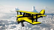 Biplan 3d model