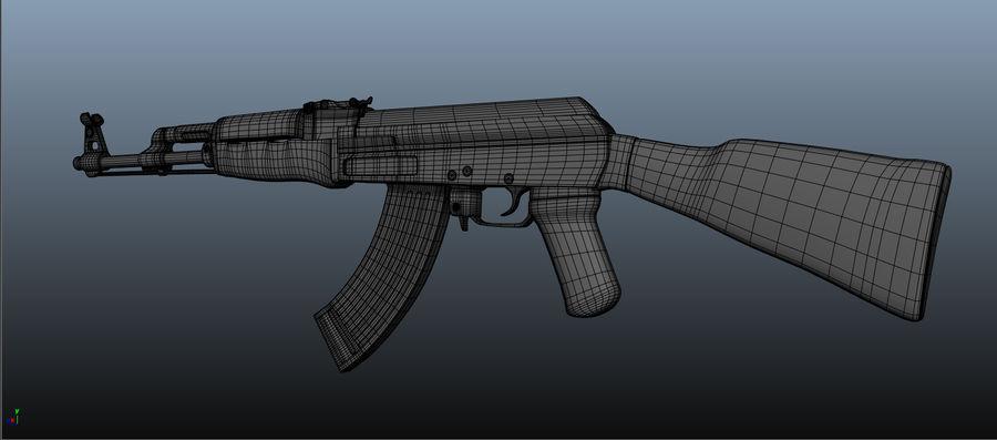 AK-47 Asset royalty-free 3d model - Preview no. 5
