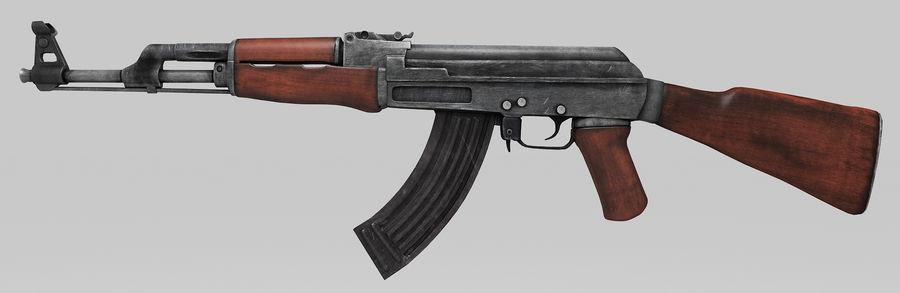 AK-47 Asset royalty-free 3d model - Preview no. 1