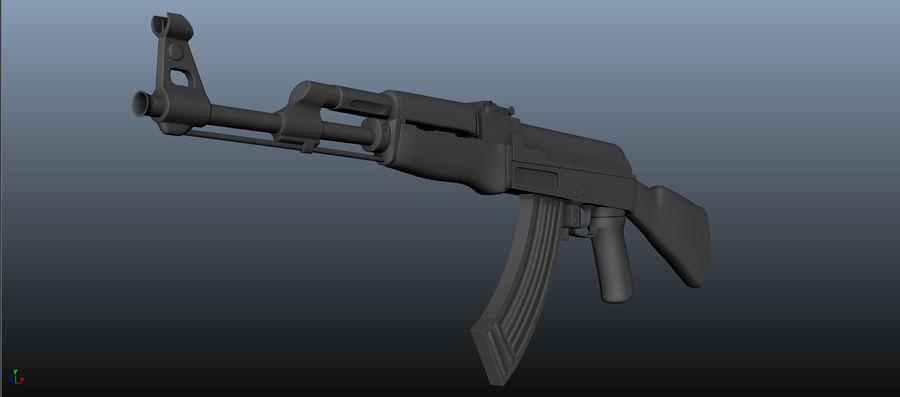 AK-47 Asset royalty-free 3d model - Preview no. 8