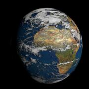 Tierra del mundo modelo 3d