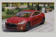 Tesla Model S. 3d model