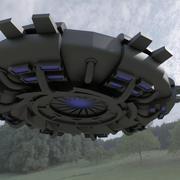 UFO - Flying Saucer 3d model