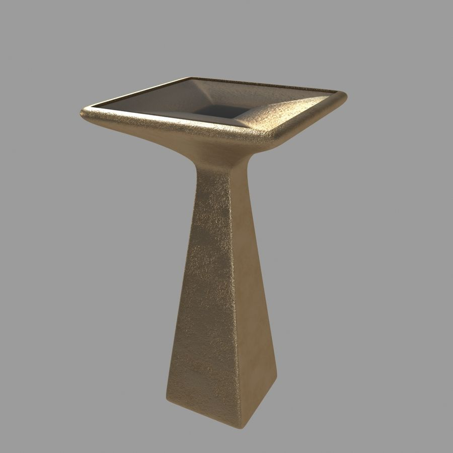 Collection de meubles lampes et tables royalty-free 3d model - Preview no. 7