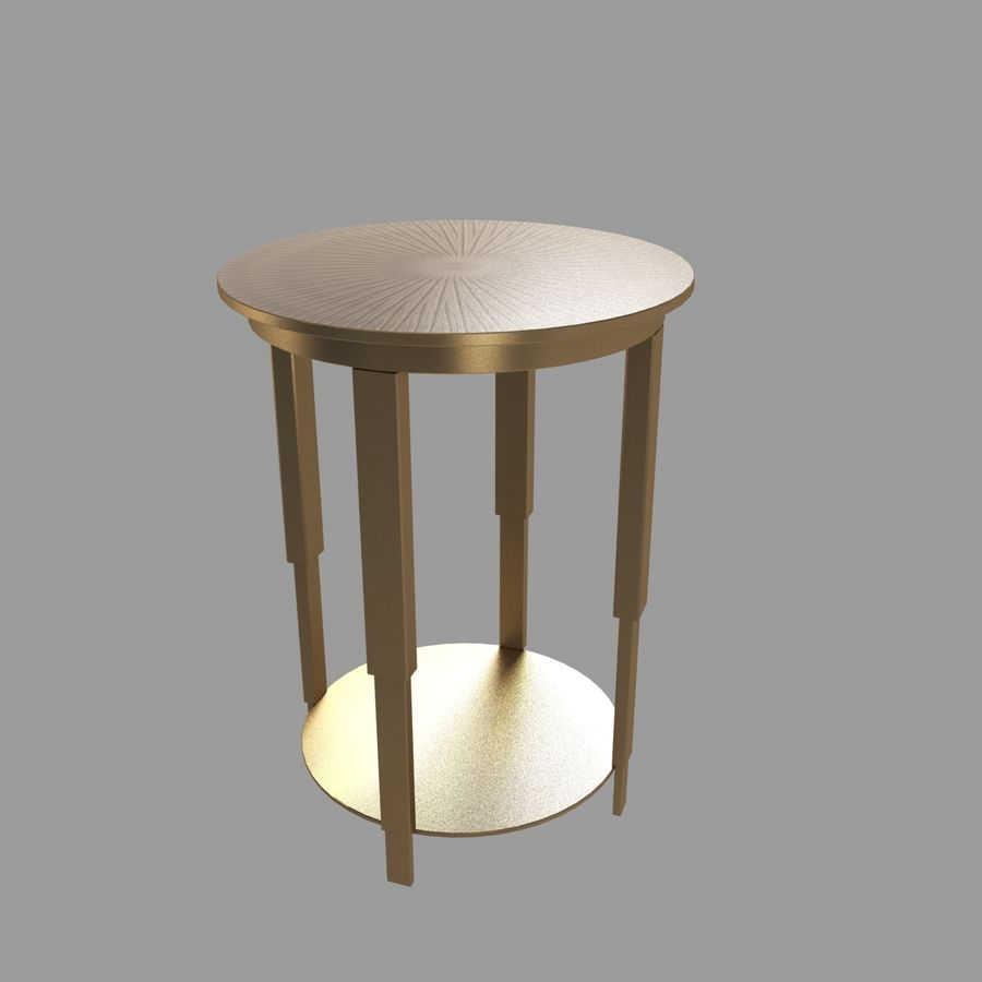 Lampen und Tische Möbelkollektion royalty-free 3d model - Preview no. 8