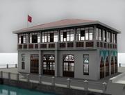 老码头 3d model