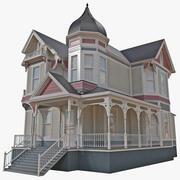 Casa vittoriana 3d model