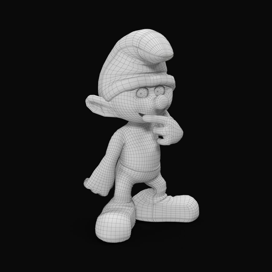 Clumsy Rigged royalty-free 3d model - Preview no. 7