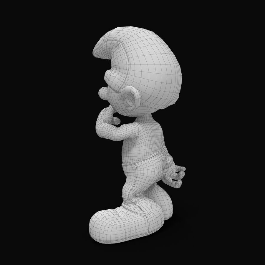 Clumsy Rigged royalty-free 3d model - Preview no. 9