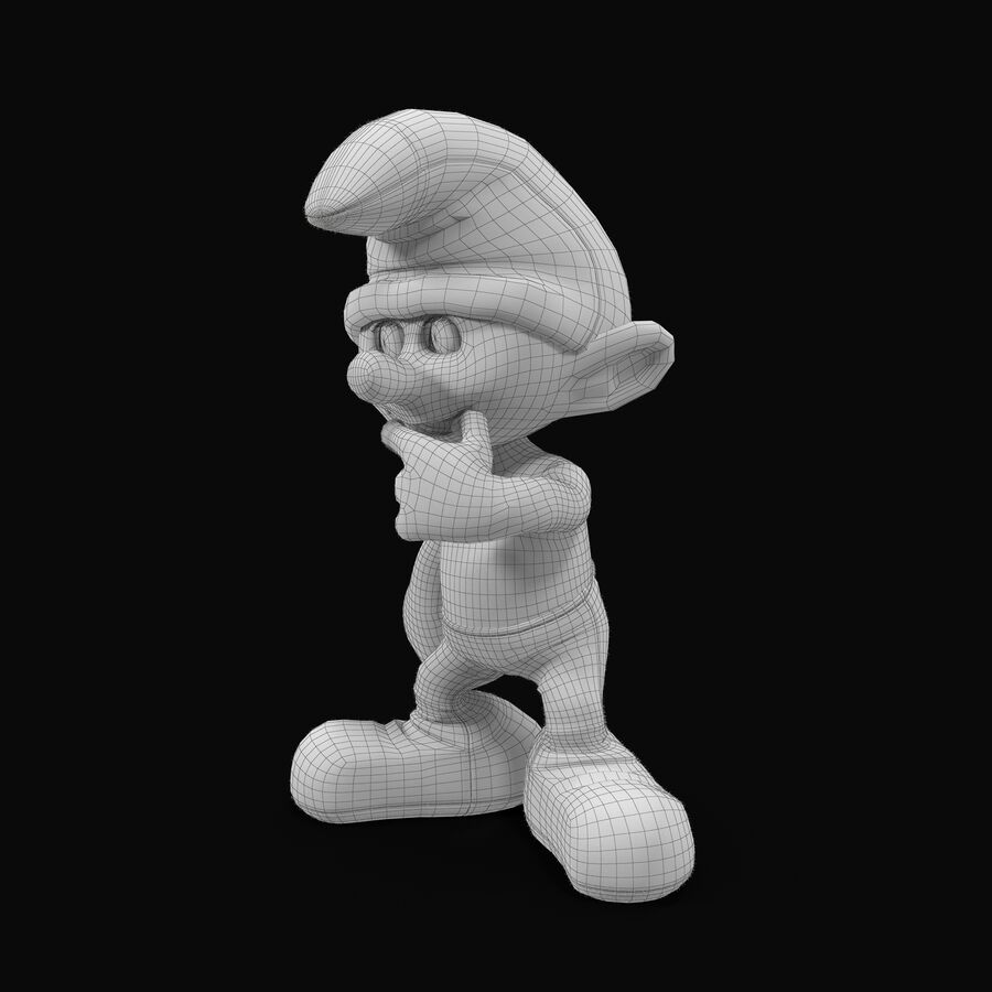 Clumsy Rigged royalty-free 3d model - Preview no. 8