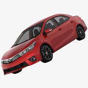 トヨタカローラE170ライブ2014 3d model