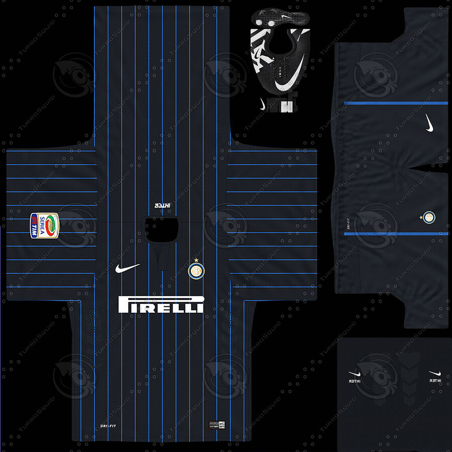 Fotbollsspelare INT riggad royalty-free 3d model - Preview no. 15