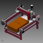 数控机床 3d model