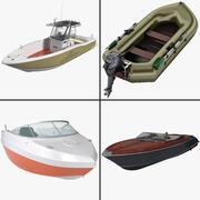 Kolekcja rekreacyjnych jednostek pływających 2 3d model
