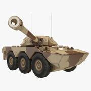 装甲车辆AMX 10 RC索具 3d model