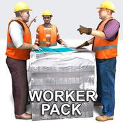 Lavoratori 3d model