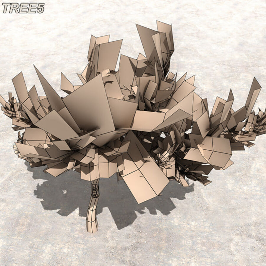 Tree Plant Pack royalty-free 3d model - Preview no. 65