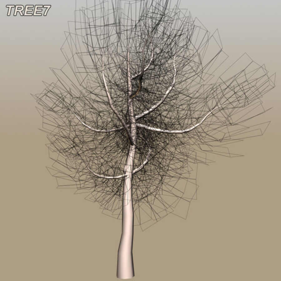 Tree Plant Pack royalty-free 3d model - Preview no. 95