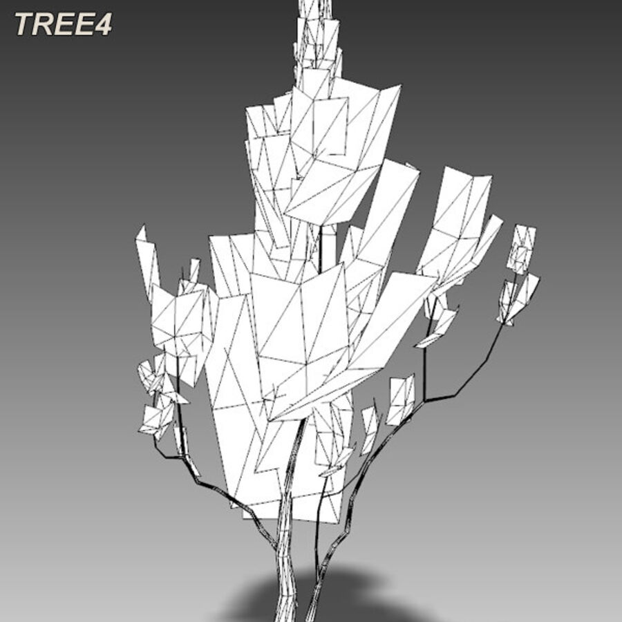 Tree Plant Pack royalty-free 3d model - Preview no. 60