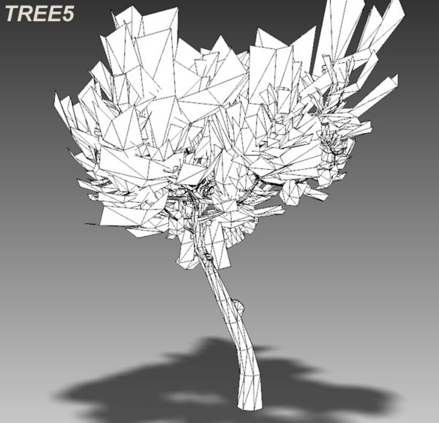 Tree Plant Pack royalty-free 3d model - Preview no. 75