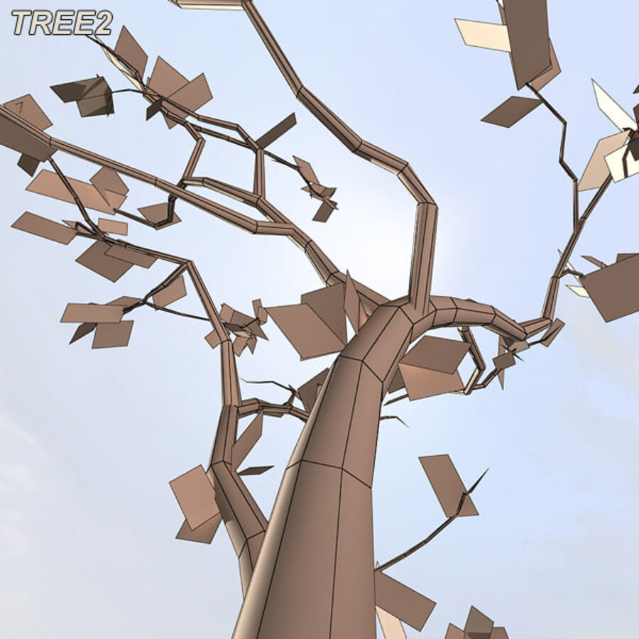 Tree Plant Pack royalty-free 3d model - Preview no. 26