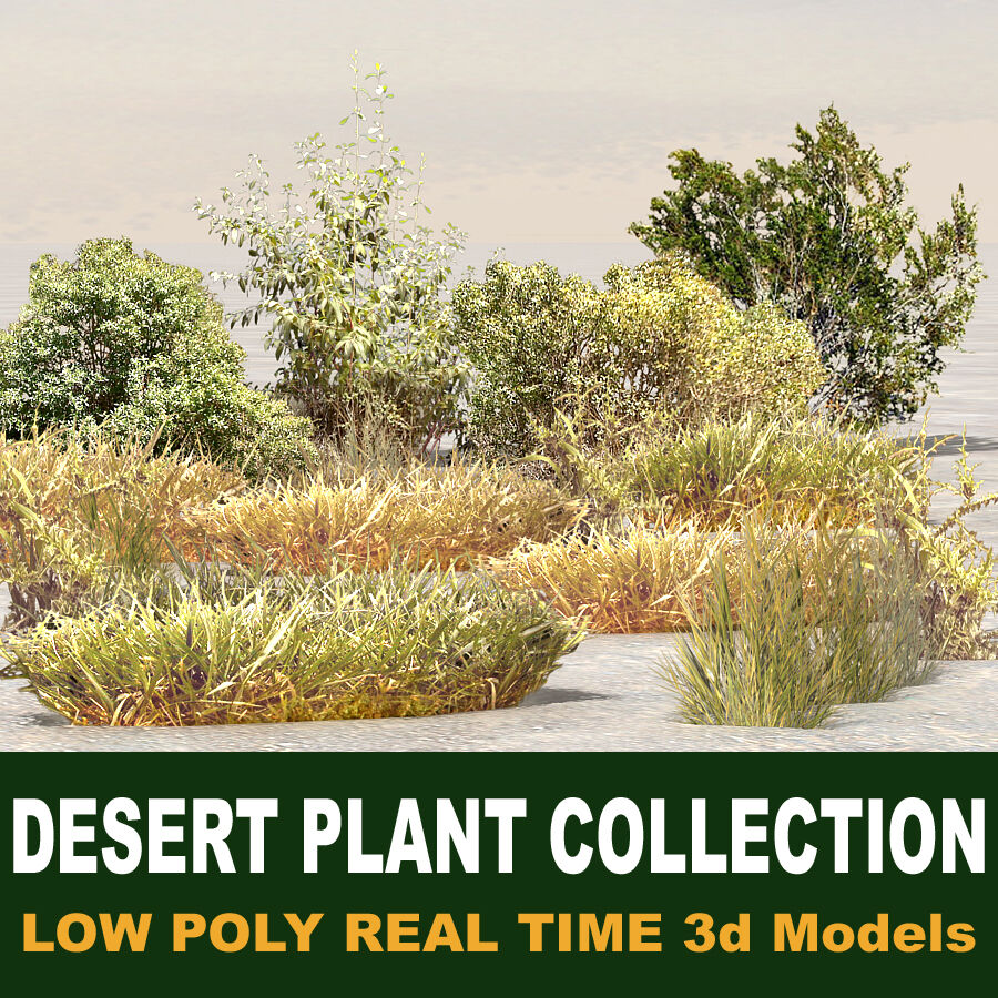 Tree Plant Pack royalty-free 3d model - Preview no. 5