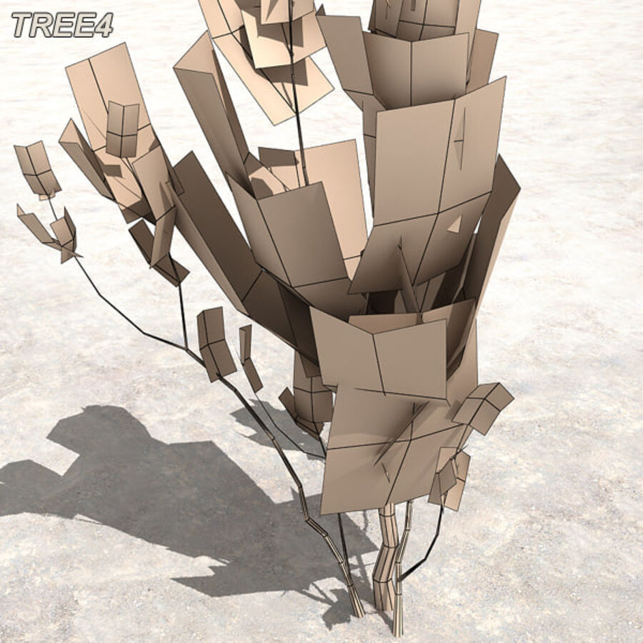 Tree Plant Pack royalty-free 3d model - Preview no. 50