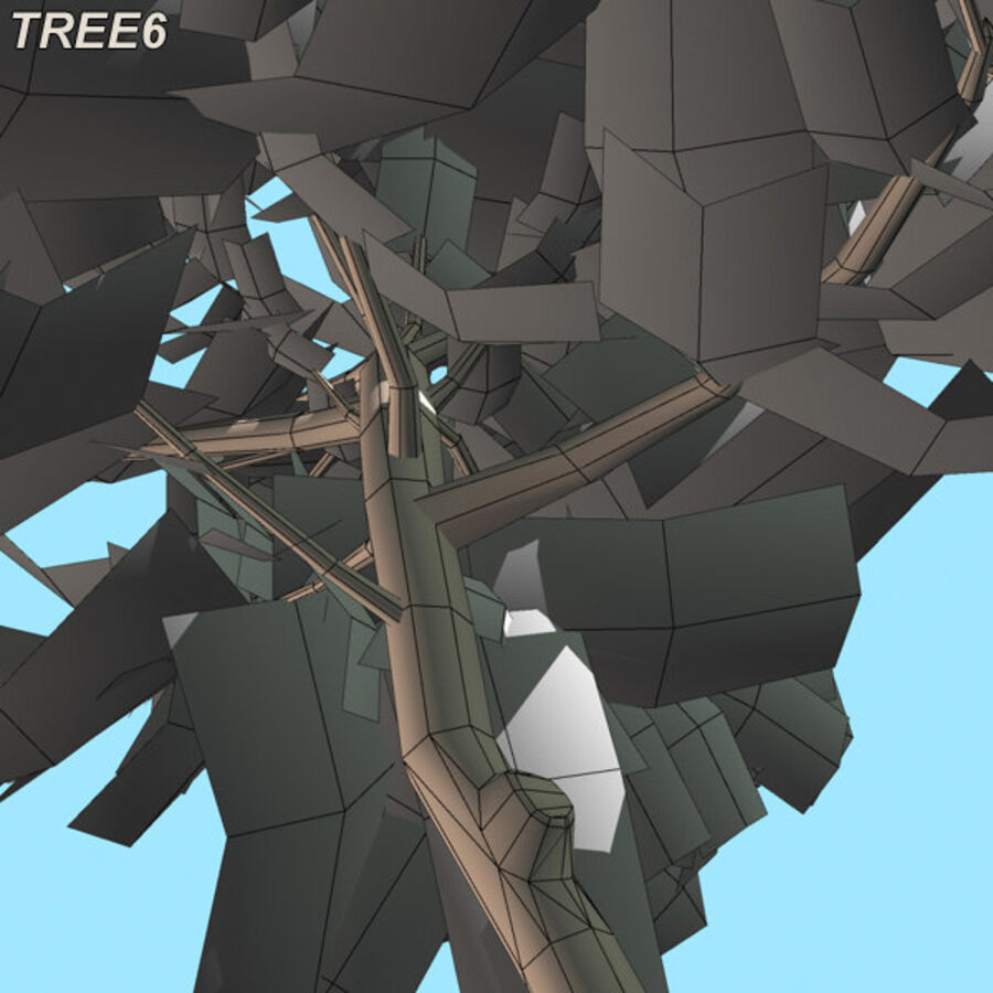 Tree Plant Pack royalty-free 3d model - Preview no. 89