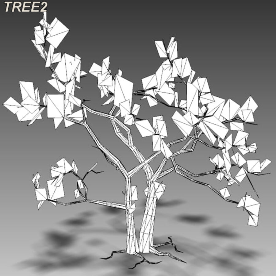 Tree Plant Pack royalty-free 3d model - Preview no. 28