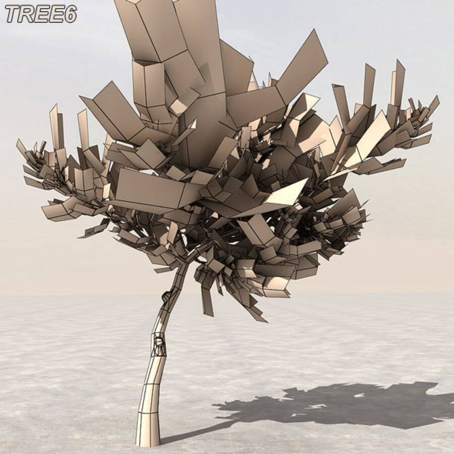 Tree Plant Pack royalty-free 3d model - Preview no. 79