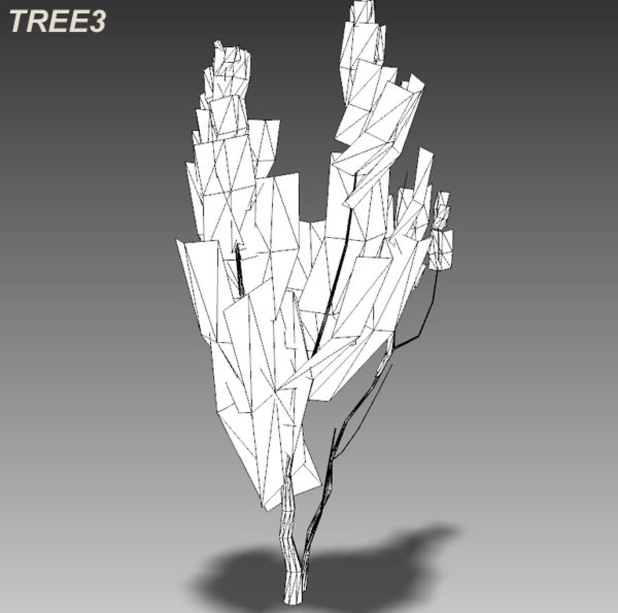 Tree Plant Pack royalty-free 3d model - Preview no. 46