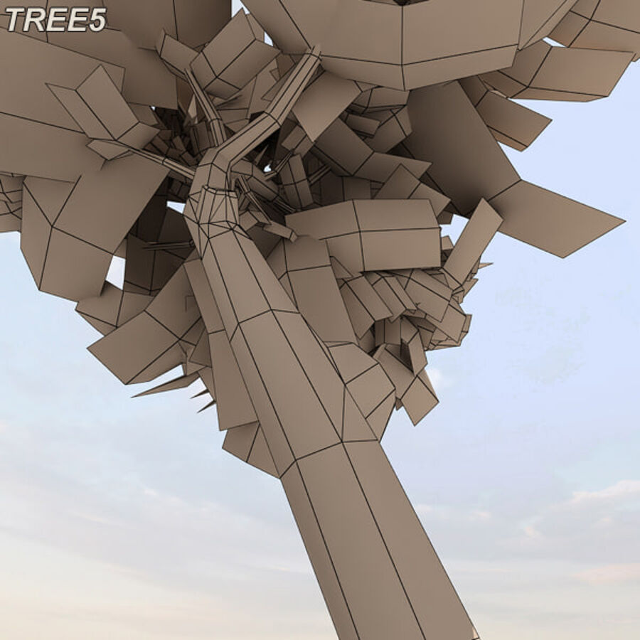 Tree Plant Pack royalty-free 3d model - Preview no. 70