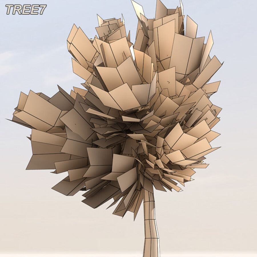 Tree Plant Pack royalty-free 3d model - Preview no. 93