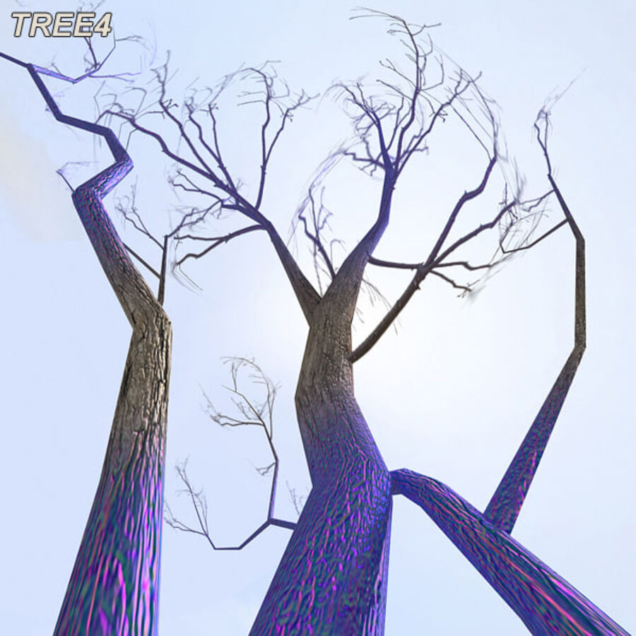 Tree Plant Pack royalty-free 3d model - Preview no. 56