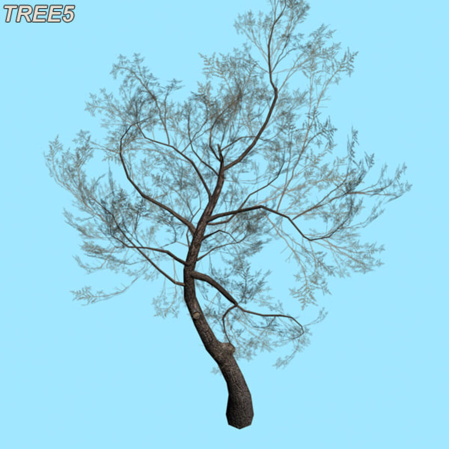 Tree Plant Pack royalty-free 3d model - Preview no. 73