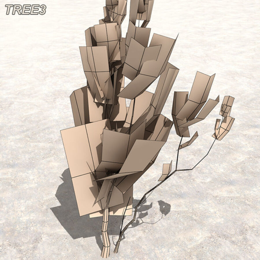 Tree Plant Pack royalty-free 3d model - Preview no. 39