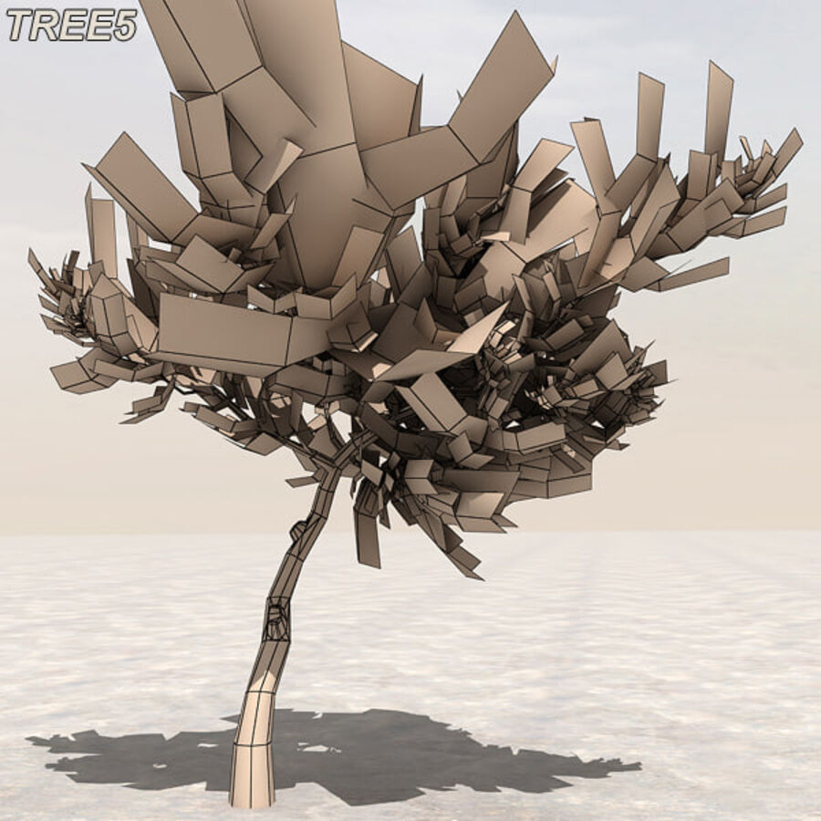 Tree Plant Pack royalty-free 3d model - Preview no. 64