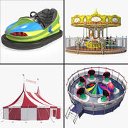 Carnival Collection 3d model