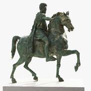 Pomnik konny Marka Aureliusza 3d model