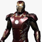 Iron Man Avengers Age of Ultron 3d model