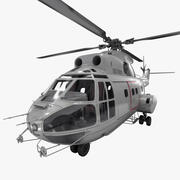 Utilitario Helicóptero SA 330 Puma 2 modelo 3d