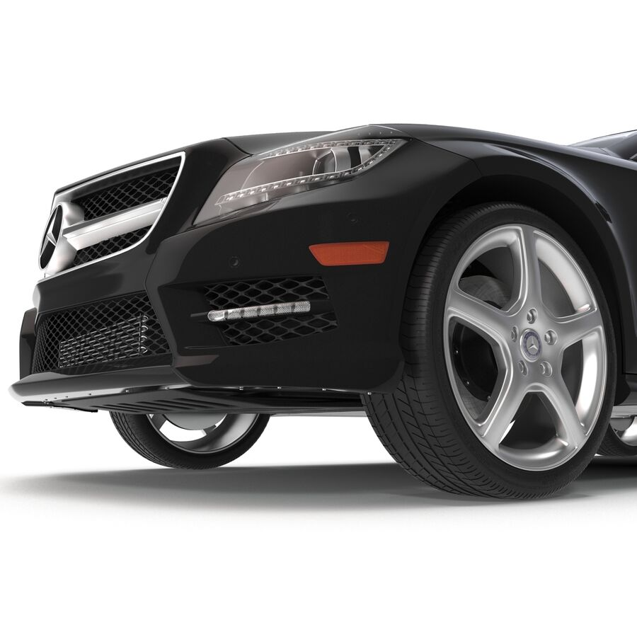 Mercedes-Benz CLS-Class Coupe 2014 Car Without Interior royalty-free 3d model - Preview no. 27