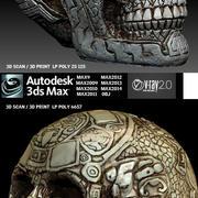 头骨 3d model