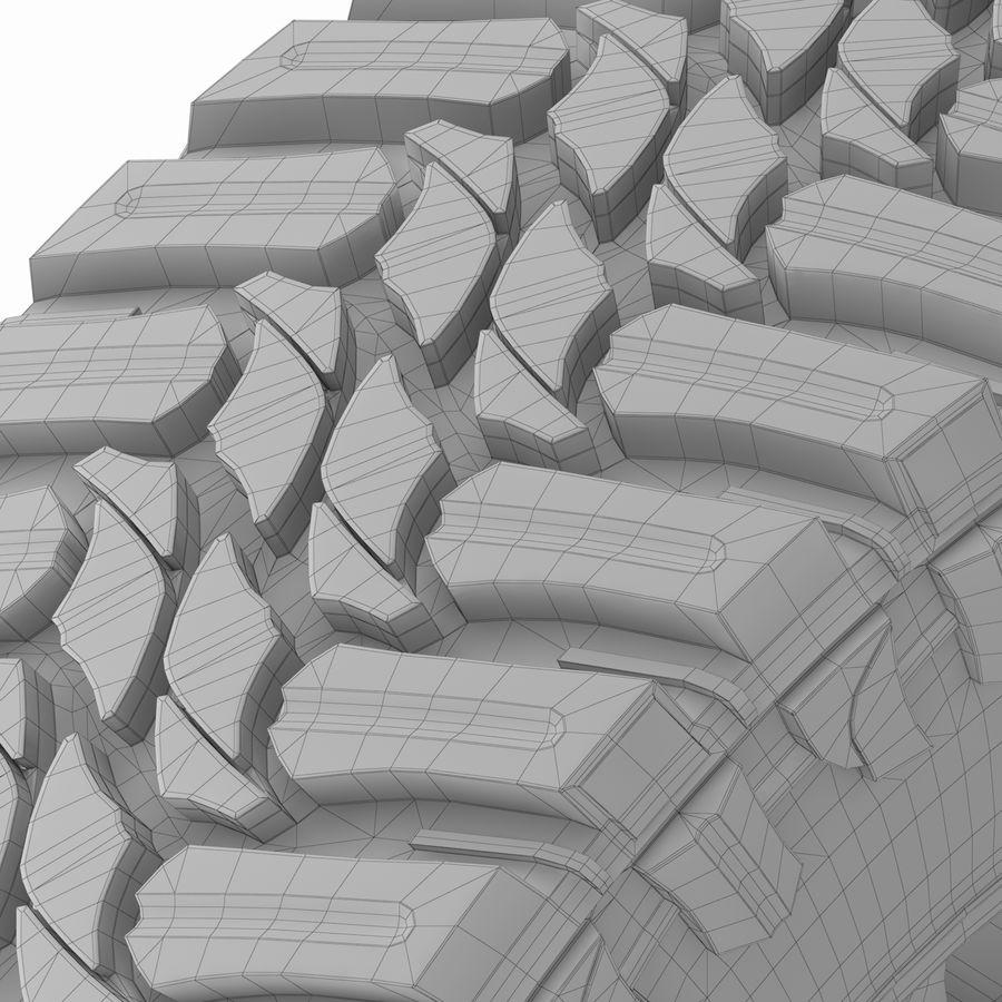 Off Road Wheel Atturo & Moto Metal royalty-free 3d model - Preview no. 9