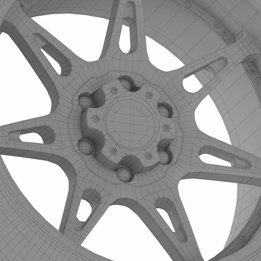 Off Road Wheel Atturo & Moto Metal royalty-free 3d model - Preview no. 8