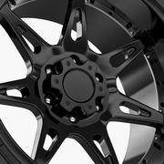 Off Road Wheel Atturo & Moto Metal 3d model