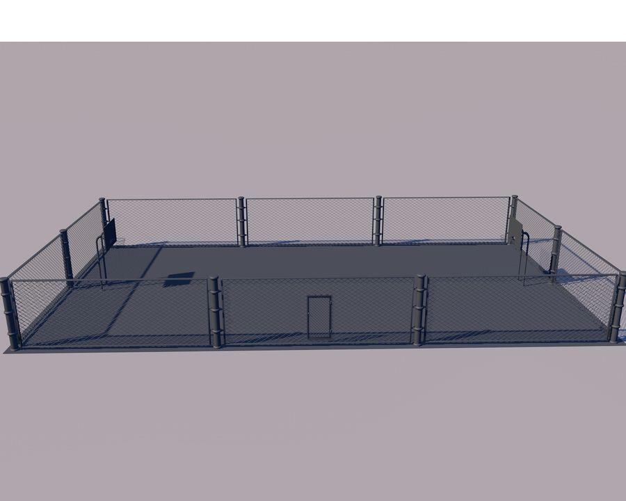 Баскетбольная площадка royalty-free 3d model - Preview no. 6