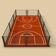 Quadra de basquete 3d model