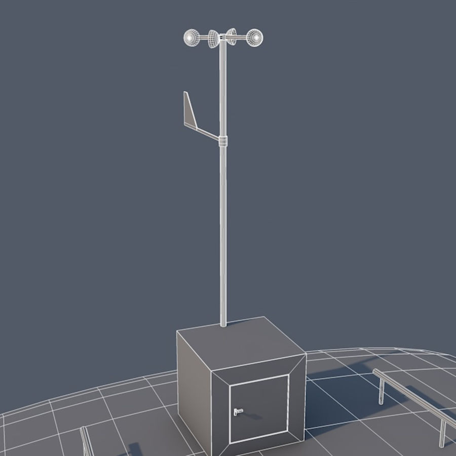 Wind Turbine royalty-free 3d model - Preview no. 11